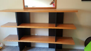 Solid Shelving Unit