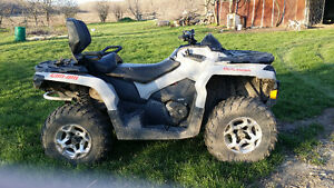 Can am 4 wheeler 2 up