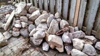 Lot de pierres de rivière