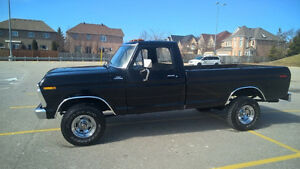 1975 ford f-100 truck