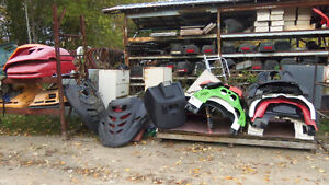 NEW & USED SNOWMOBILE PARTS