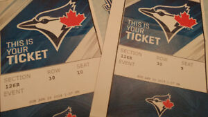 2 Blue Jays tickets - cheap!!! 2 tickets for the price of 1!