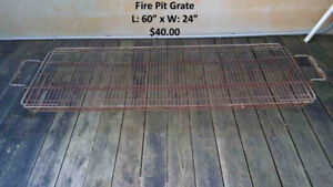 Fire Pit Grate For Sale