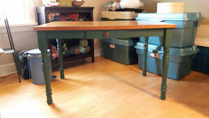 Real Wooden Table - Get it today! Needs to go!!