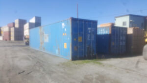 40' High Cube Blue Shipping  Container - Used