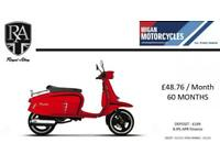 ROYAL ALLOY GT125 AIR COOLED AVAILABLE IN AN ARRAY OF COLOURS CALL NOW
