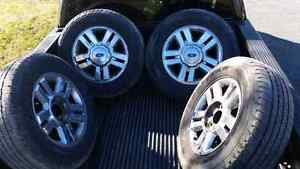 265 65 18 tires off 2008 f150 Peterborough Peterborough Area image 1
