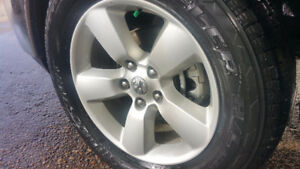 2017 Dodge 1500 (Take off's) Tires and Rims with sensors