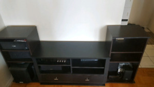 TV Entertainment unit with lots of storage