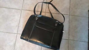 McKlein handbag. Black leather