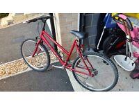 Ladies Raleigh bicycle.