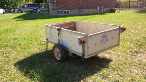Trailer - 6x4 box with lights