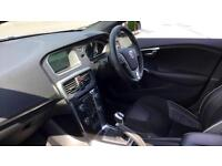 2015 Volvo V40 D4 (190) R DESIGN Lux Nav with Manual Diesel Hatchback