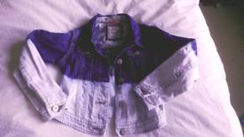 Age 7-8 denium jacket from Next