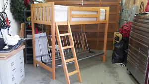 Bunk Bed with Futon/Couch Combo