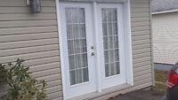 Steel Garden french doors