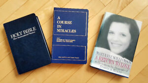 REDUCED! A Course In Miracles Text, Workbook, Guide, Bible