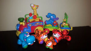 Indestructible Musical Train! Solid Lasting Toy with Batteries