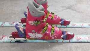 Ski et bottes enfant
