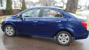 2012 Chevrolet Sonic LT Berline