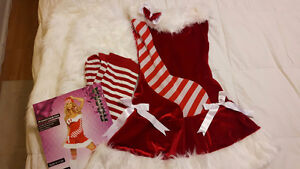 Santa Candy Cane Outfit