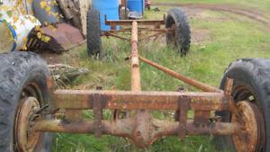 Ford Anglais Antique roue conduite différentiel