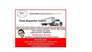TRUCK DISPATCHER COURSE STARTING SOON