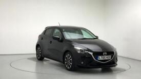2015 Mazda 2 1.5 115 Sport Nav 5dr Petrol black Manual