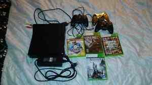 Xbox 360 plus games $130 OBO