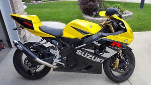 2004 Suzuki GSX-R Only 5000km!!
