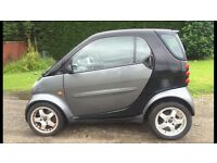 CHEAP AUTOMATIC SMART CAR PURE SOFTOUCH 599ccL (2002) cheap tax £30