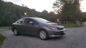 Mint and Maintained 2012 Honda Civic Lx with safety and Etest