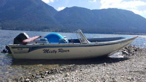 Reduced Misty River fishing boat 19 feet