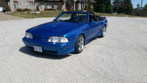 1989 Ford mustang 5.0L convertible supercharged