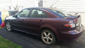 Mazda6 seulement/only 600$ NEGOCIABLE !! MUST GO !!!