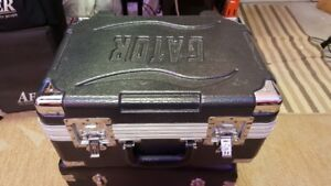 Road case for microphones