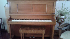 Heintzmann upright grand piano