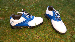 One of a kind Prostate Cancer Golf Shoes for sale