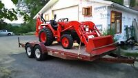 kubota L3400 mint show room shape 121 hrs
