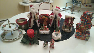 Beautiful large and smaller sized xmas decorations
