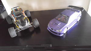 Rc auto de course brushless et traxxas rustler