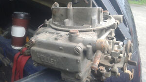 holley 600cfm carb has vac secondaries & electric choke