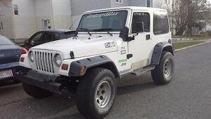 1997 Jeep TJ SUV, Crossover