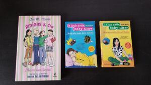 Baby-sitters Club Spanish and Italian Books