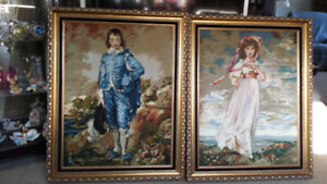 Embroidered Pictures - Collectors Items