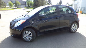 08 Yaris - auto - 4 door - A/C - NEWER TIRES ONLY 94,000KMS