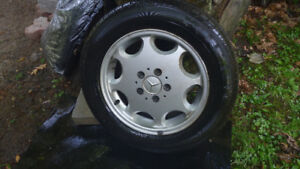 Tires with Mercedes rims