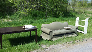 Free couch table etc