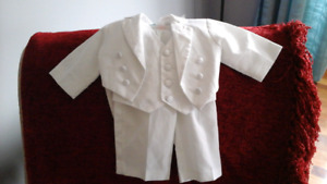 Boys Wedding/Christening 3 Piece Suit - 3 - 6 months