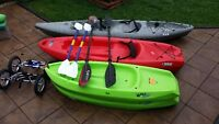 One Kayak left - save over $200 on a great package